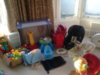 Car Boot - New Baby - Job Lot - Kids Bundle - House Clear Out