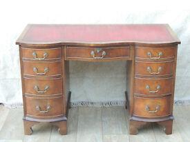 Funnell Desk Antique repro unique item (Delivery)
