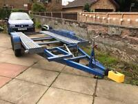Brenderup Tilt Bed Car Transporter Trailer