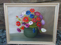 FABULOUS VINTAGE OIL PAINTING FOR SALE