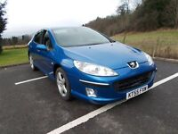 Peugeot 407 SC HDi for sale in excellent condition