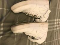 High Top Airforce UK size 9
