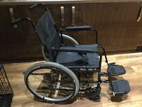 Self propelled wheelchair.