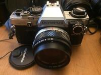Olympus om10 plus lens and loads of extras