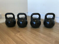 Competition Kettlebell Set - 8kg, 12kg, 16kg, 20kg