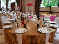 Wedding and events decorations and chair covers