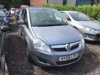 2008 Vauxhall Zafira 1.9 Cdti automatic 7 seater 12 months mot/3 months warranty