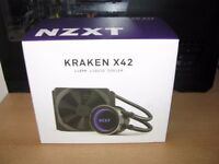 BRAND NEW NZXT KRAKEN X42 AIO CPU LIQUID COOLER WATER COOLER