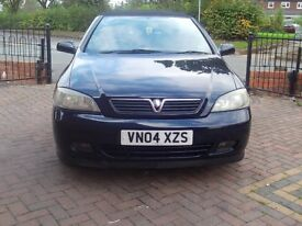 2004 ASTRA CONVERTABLE MOT AUGUST 2018 ( very clean )