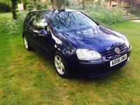 2006 Volkswagen Golf in stunning Blue.... HPI CLEAR