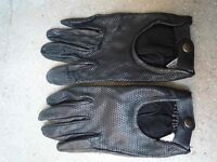 Women's Italian Leather Driving Gloves - LUXURY quality Last pair!