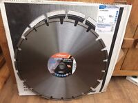 Norton Clipper Asphalt Diamond Blade 450mm x 25.4mm (For Road saw)