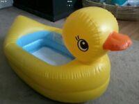 Inflatable Duck bath