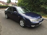 FORD MONDEO 2.0TDCI GHIA,7 MONTHS MOT,LOW MILEAGE,SERVICE HISTORY.