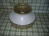 Large Ceiling Glass Lamp Shade Retro Vintage flex