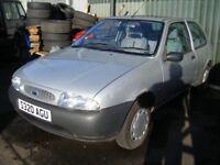 1998 (S) MK4 Ford Fiesta (S320) 1.3 Petrol, VERY LOW mileage, NO MOT