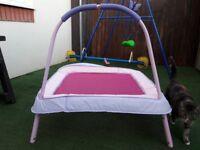 Girls small trampoline