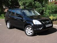 EXCELLENT 4X4! 54 REG HONDA Cr-V 2.0 i-VTEC EXECUTIVE STATION WAGON 5dr, FULL LEATHER, SAT NAV FHSH