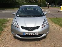 12 Months Warranty, Honda Jazz 1.4 i-VTEC ES, 2010,Manual, Silver, FSH, Long MOT, Excellent Bodywork