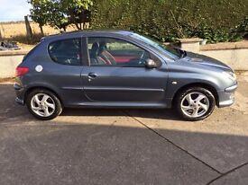 Peugeot 206 12 months mot
