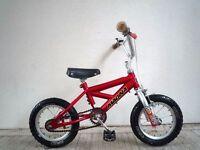 "(1871) 12"" MAGNA HOTROD Boys Girls Kids Bike Bicycle+STABILISERS Age: 2-4 Height: 80-100 cm"