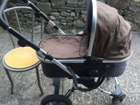 Pram for sale, first wheels and in very good condition