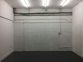 Studio space available to rent