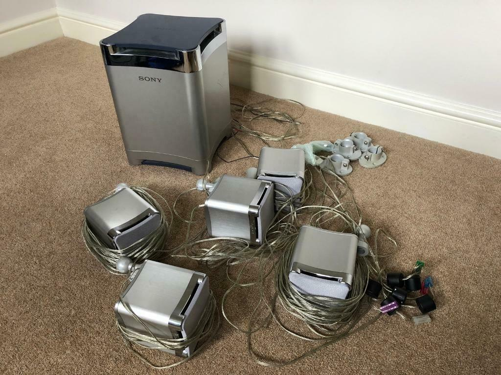Sony speakers and sub-woofer | in Ipswich, Suffolk | Gumtree