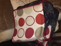 Free red cushions 8 or more different styles