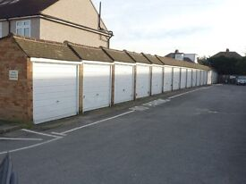 2 lockup garages to rent in North Cheam