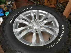 Mitsubishi Shogun alloy wheels