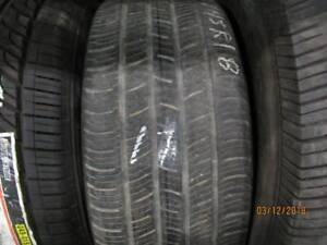 225/45R18 SINGLE ONLY USED CONTINENTAL A/S TIRE