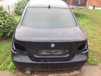 BMW 520D M Sport boot