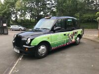 LONDON TAXI 2007 TX4 BLACK CAB FOR RENT ONLY £185 Per Week