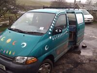 Toyota Hiace Powervan 2.5 Crew Cab Camper Conversion