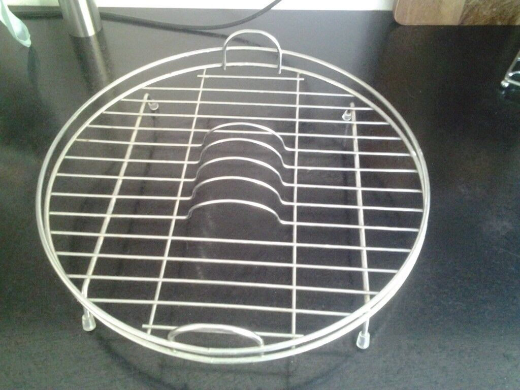 Round Wire Washing Basket Drainer For Kitchen Sink