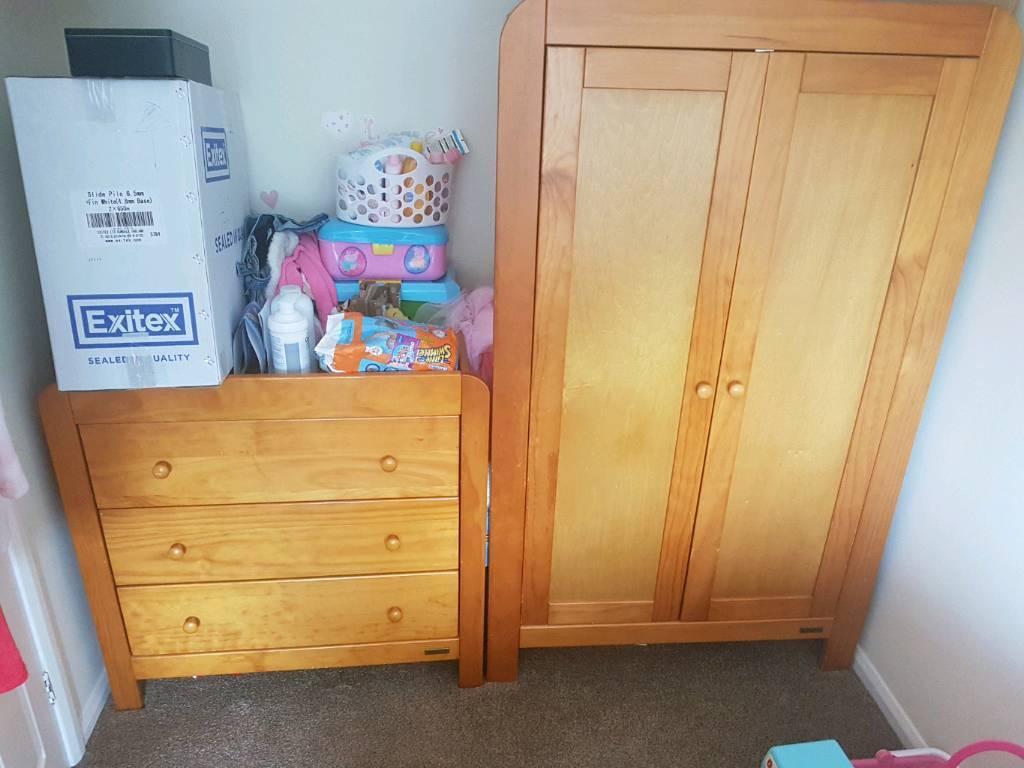 Mamas and papas nursery wardrobe