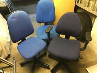 3 office chairs - £15 for all 3 or....
