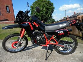 1987 DT125 ypvs dakar , fully restored
