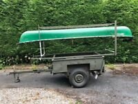 Trailer for Canoes, Bikes and Camping