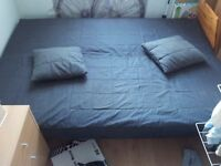 Double frame bed