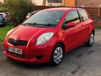 2006 TOYOTA YARIS 1.3 T3, 70,000 MILES, 2 KEEPERS, MOT TILL 15TH NOVEMBER, IDEAL FOR NEW DRIVER