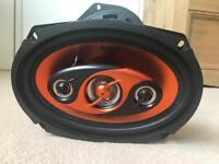 Edge car speakers