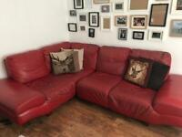 Red corner sofa for Sale | Sofas, Couches & Armchairs | Gumtree