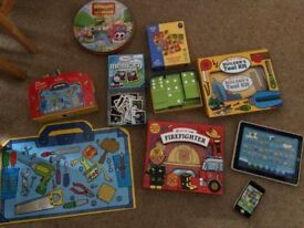 selection of childrens toys games and jigsaws all in excellent condition