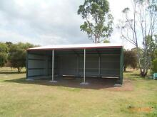 FARM SHEDS 12X9X3.6 FARM SHED COLORBOND FARM SHEDS GARAGES ROMA Roma Roma Area Preview