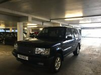 RANGE ROVER 4.6 HSE Blue, White leather interior,sunroof, Petrol , Automatic