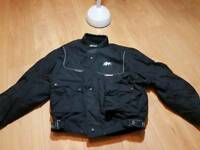 Motorbike amoured jackets x2 small and large