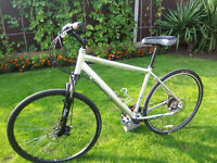 MONGOOSE CROSSWAY 350 HYBRID BIKE ADULT UNISEX DISC BRAKE