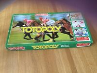 Totopoly Vintage Board Game 1983